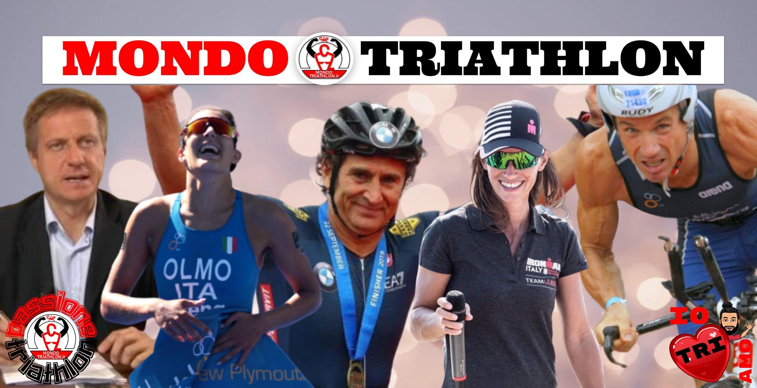 Passione Triathlon Ospiti 11-15 maggio 2020: Alex Zanardi, Angelica Olmo, Danilo Palmucci, Tania Branzanic, Luca Speciani