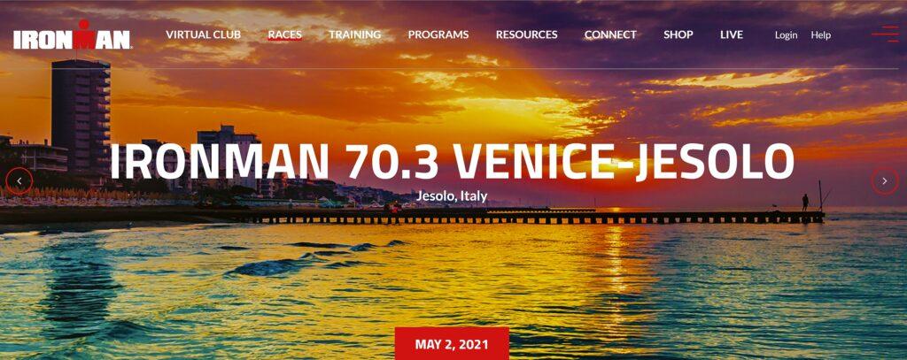 Ironman 70.3 Venice-Jesolo, 1^ edizione 2 maggio 2021
