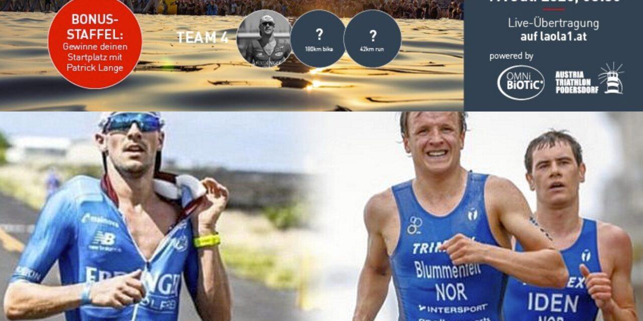 A caccia di triatleti con Patrick, Kristian e Gustav…