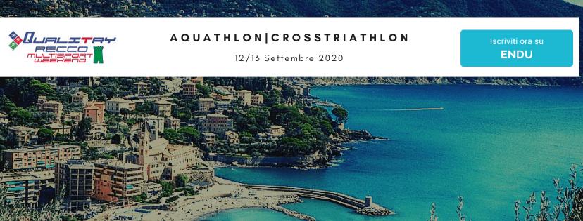 Campionati Italiani Recco Aquathlon e Cross Triathlon 2020