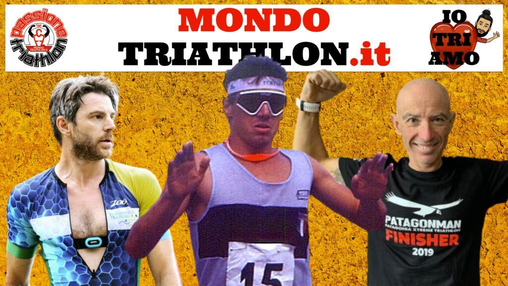 Passione Triathlon, la copertina con i protagonisti dal 20 al 24 luglio 2020: Danilo Palmucci, Emanuele Iannarilli, Daniele Castrorao
