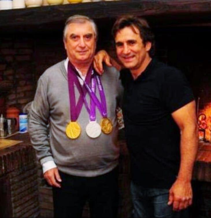 Il Dottor Costa con il suo grande amico Alex Zanardi