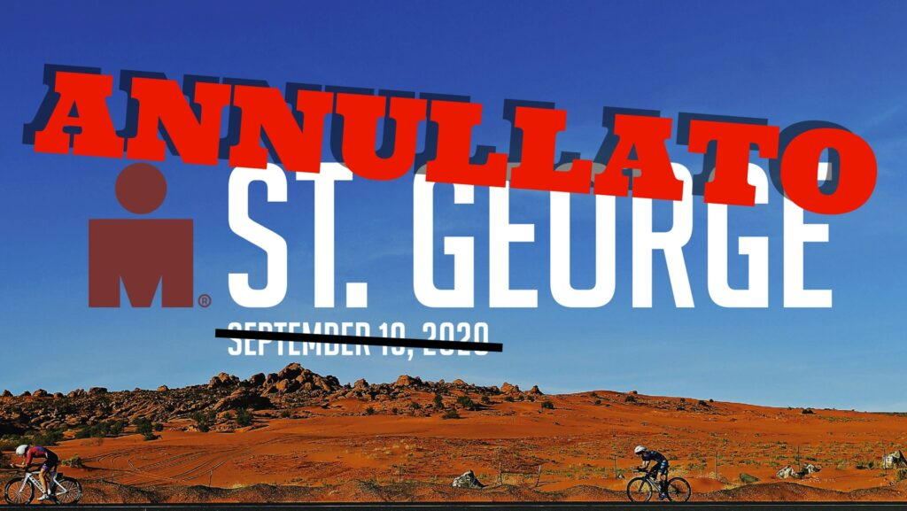 Annullato l'Ironman St. George valido come North American Championship 2020