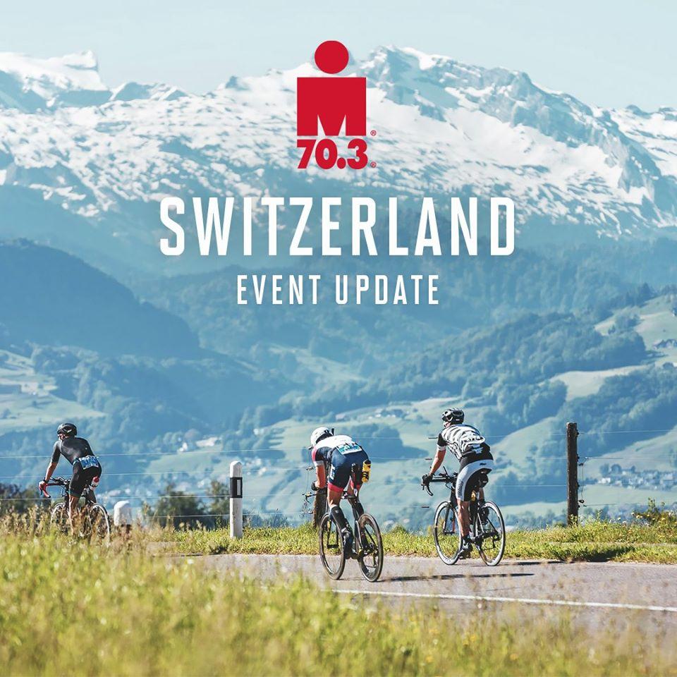 Ironman 70.3 Switzerland 2020 annullato e rinviato al 6 giugno 2021