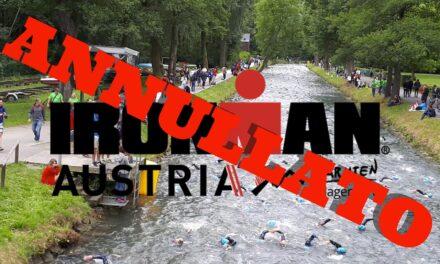 Ironman Austria Klagenfurt annullato! Torna il 4 luglio 2021