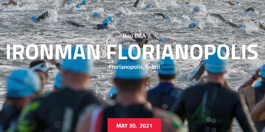Salta l'edizione 2020 dell'Ironman Brazil a Florianopolis, torna il 30 maggio 2021