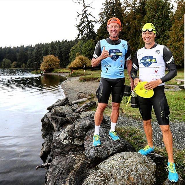 Simon Whitfield racconta lo SwimRun in team con Lance Armstrong