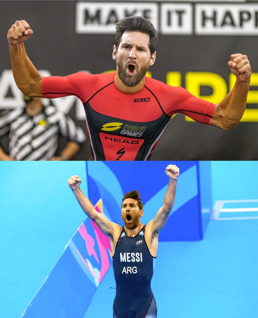 Lionel Messi triatleta #MessiToTriathlon