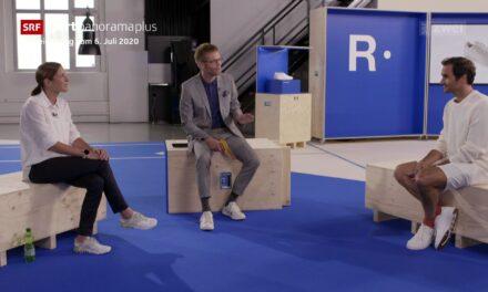 """Roger Federer in TV con Nicola Spirig: """"L'endurance non fa per me"""""""