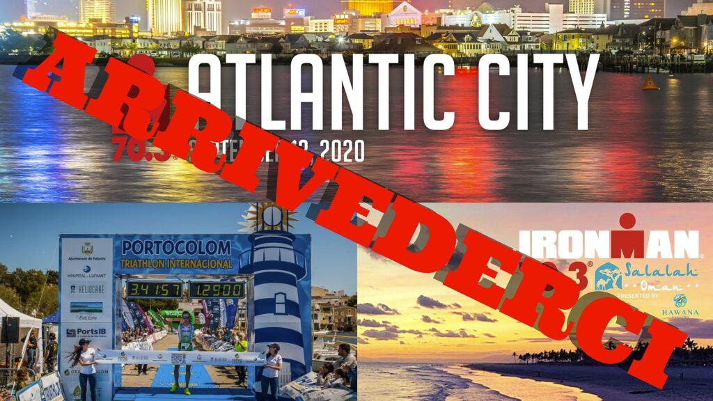 Annullati 3 eventi: Triathlon de Portocolom, Ironman 70.3 Atlantic City e Ironman 70.3 Salalah
