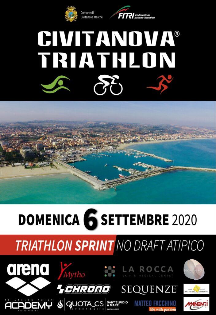 Triathlon Civitanova 2020 locandina
