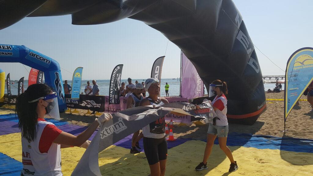 Samantha De Stefano vince Aquaticrunner 2020 (Foto: Dario Daddo Nardone / Mondotriathlon.it)
