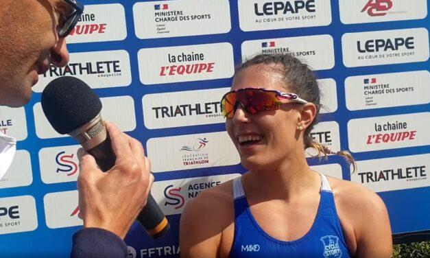 Angelica Olmo vince il Grand Prix France Triathlon Quiberon!