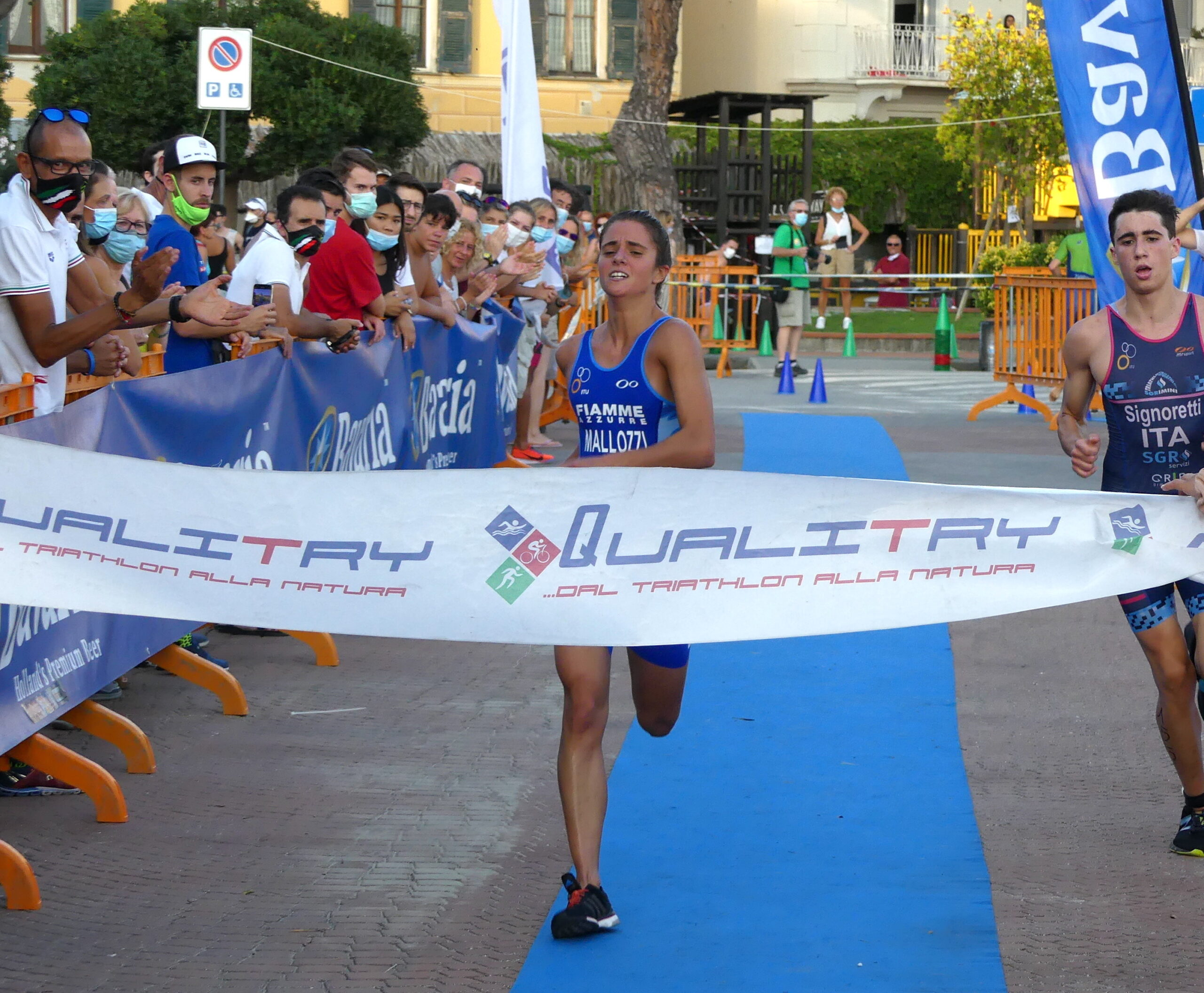 I campioni d'Italia di Aquathlon 2020 Assoluti e di Categoria
