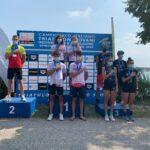 Campionati Italiani Triathlon Giovani 2020 Lovadina: podio Squadre Junior