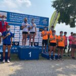 Campionati Italiani Triathlon Giovani 2020 Lovadina: podio Squadre Youth