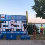 Campionati Italiani Triathlon Giovani 2020 Lovadina: podio Junior donne
