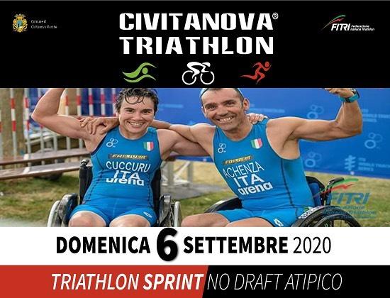 Civitanova Triathlon 6 settembre 2020 1^ tappa IPS, Italian Paratriathlon Series