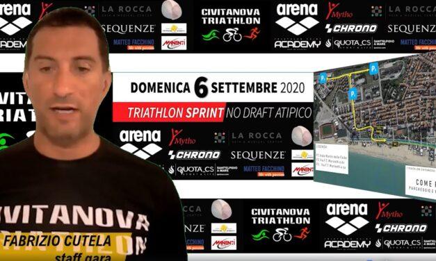 Il video briefing del Civitanova Triathlon!