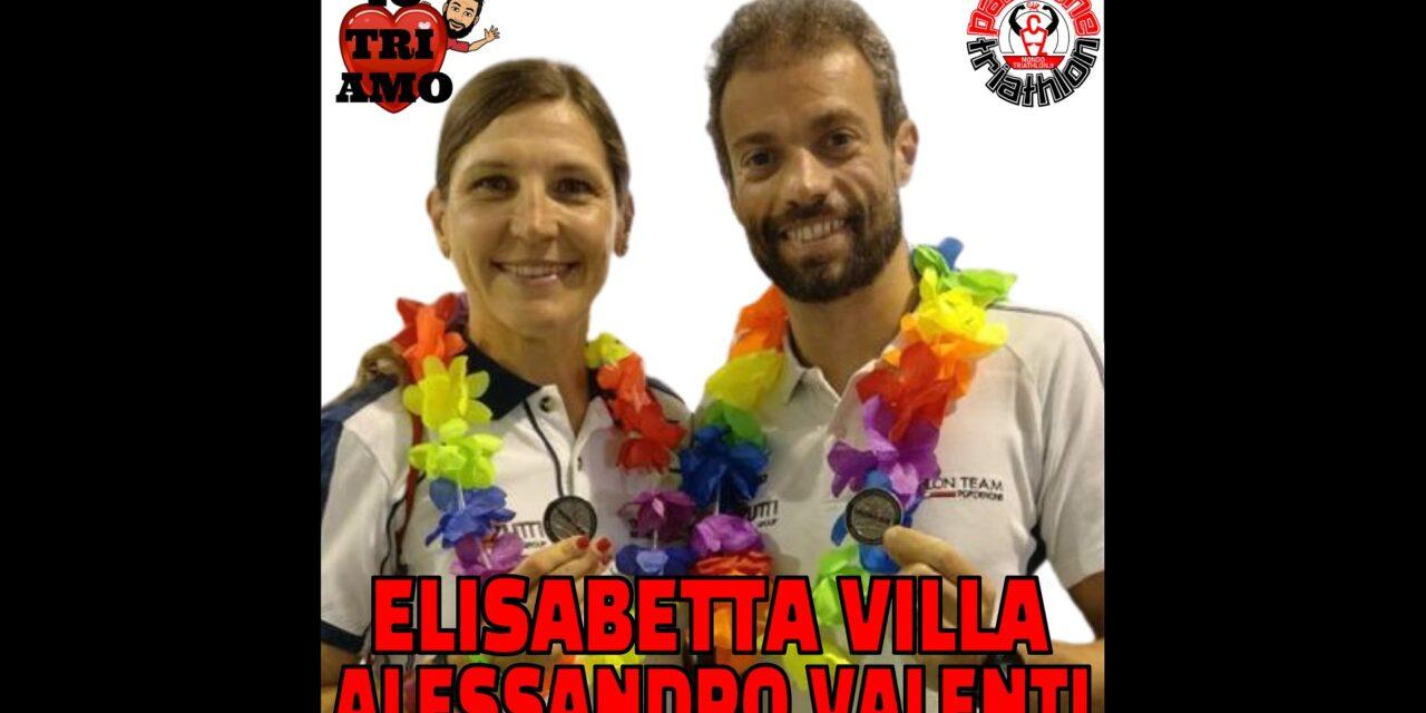 Elisabetta Villa Alessandro Valenti – Passione Triathlon n° 82
