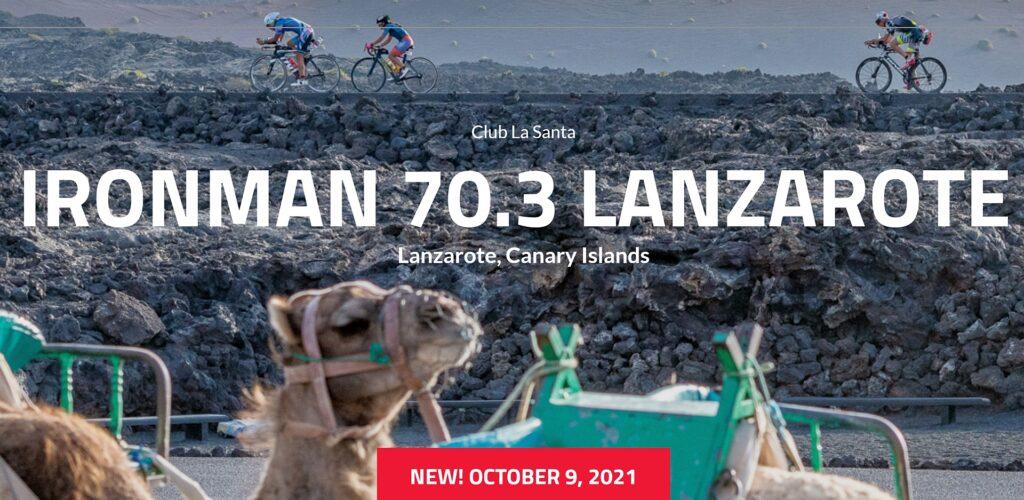 L'edizione 2020 dell'Ironman 70.3 Lanzarote non si disputerà, l'arrivederci è al 9 ottobre 2021