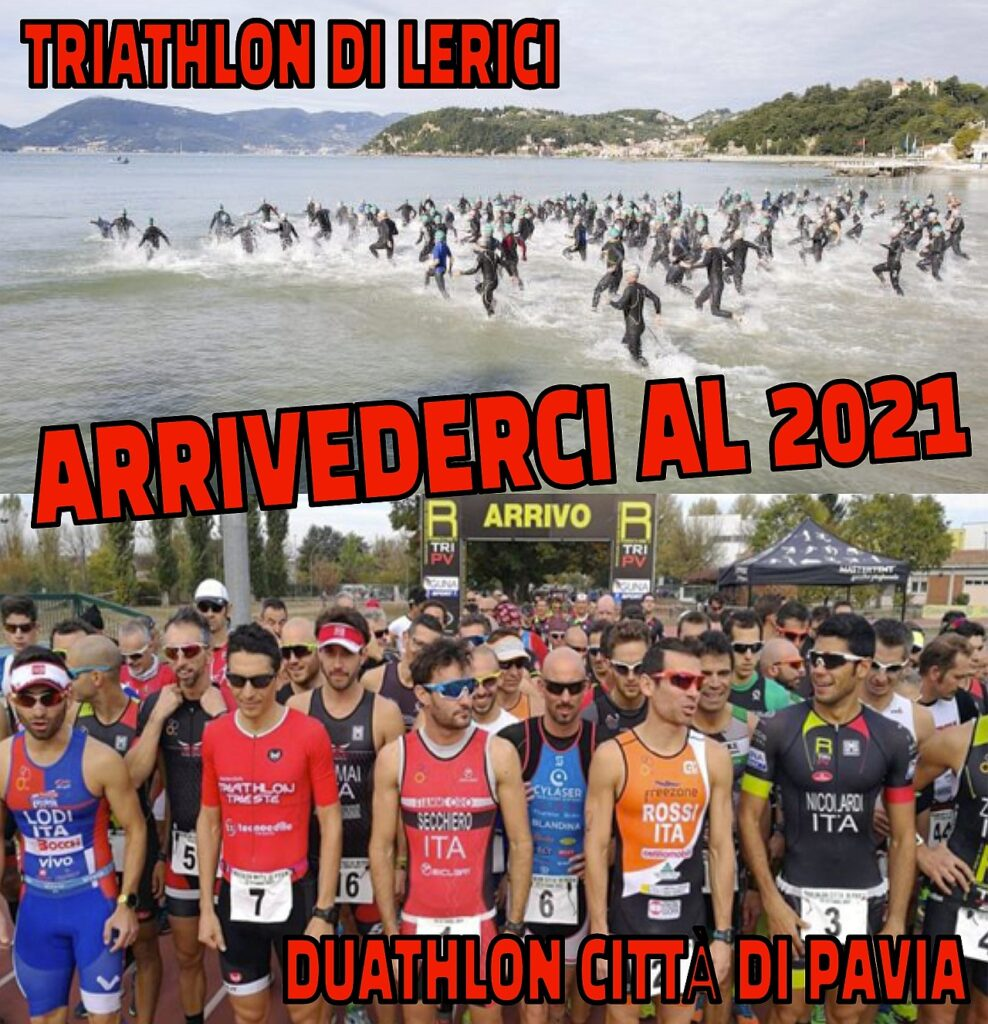 Annullati il 14° Triathlon di Lerici e il 10° Duathlon di Pavia