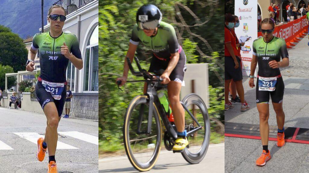 Giorgia Priarone (707 Triathlon Team) domina il 25° Triathlon Internazionale di Mergozzo del 6 settembre 2020 (Photo-Sport.it)