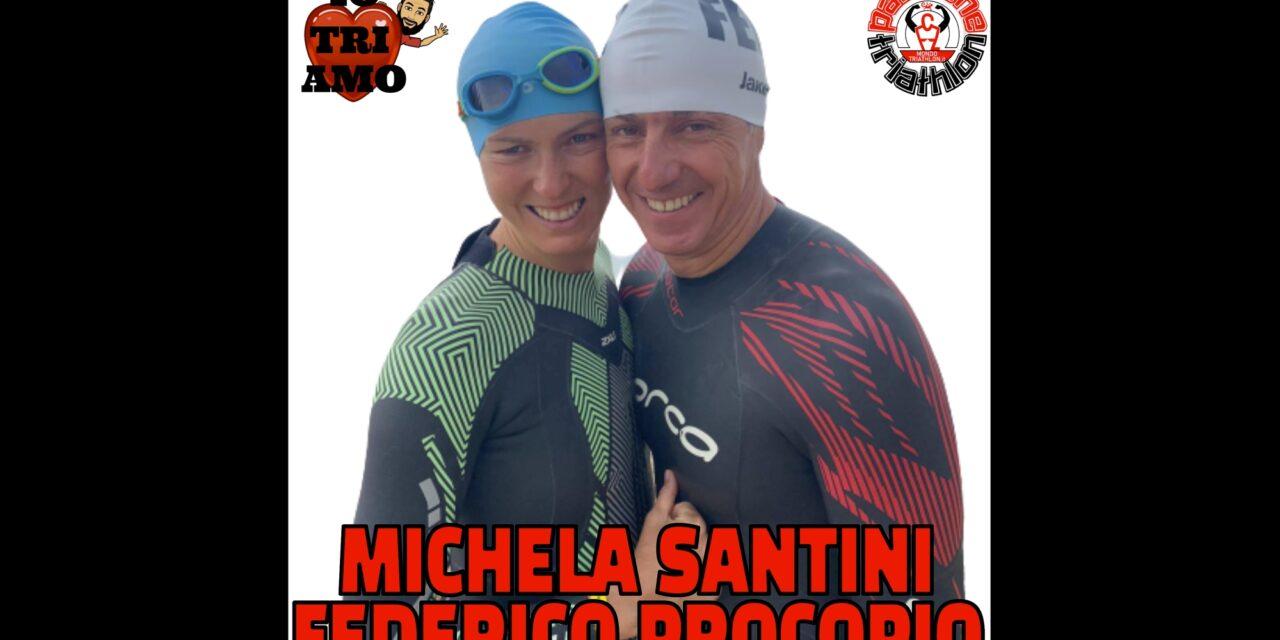 Michela Santini Federico Procopio – Passione Triathlon n° 71