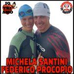 Michela Santini e Federico Procopio Passione Triathlon