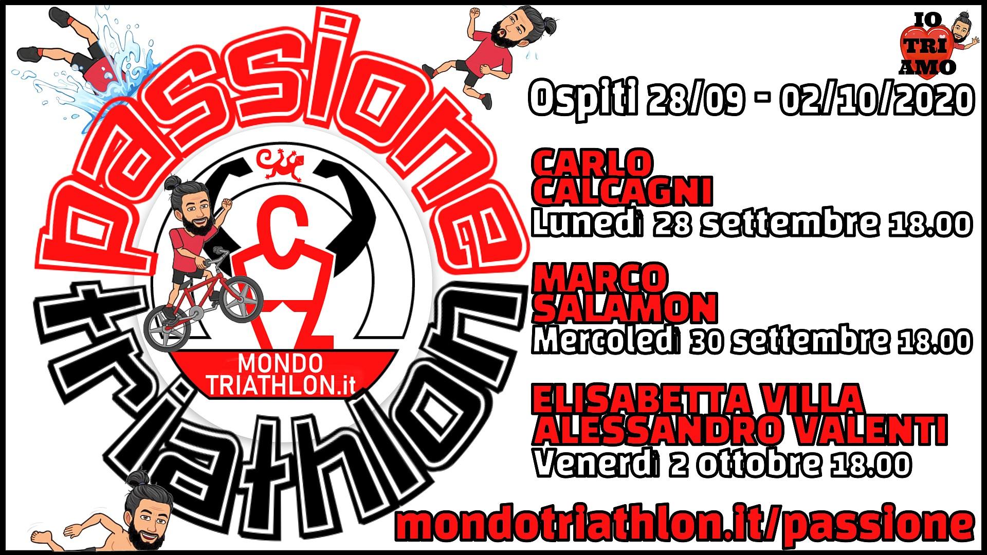 Programma Passione Triathlon 21 settembre - 2 ottobre 2020