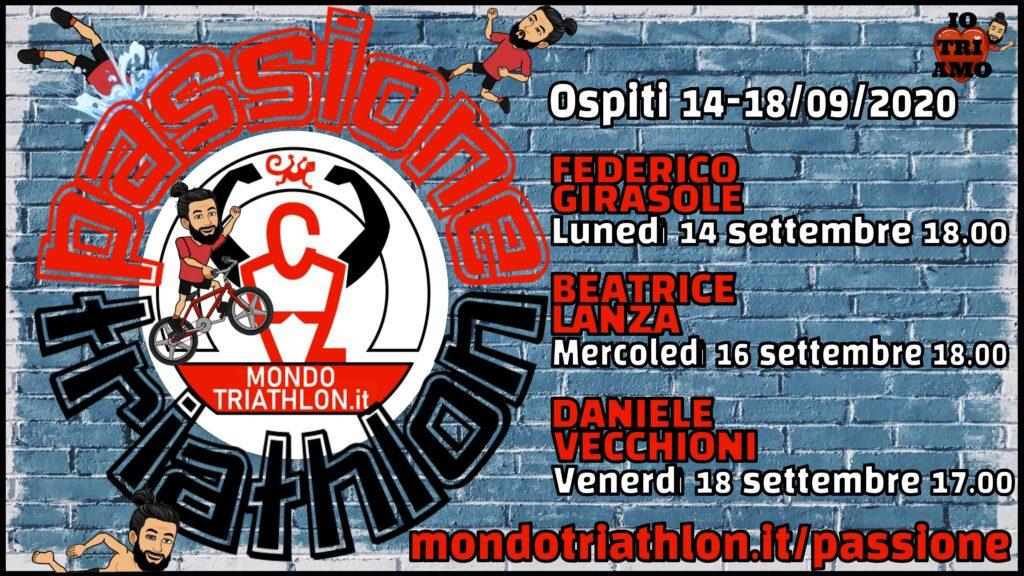 Programma Passione Triathlon 2020-09-14/18