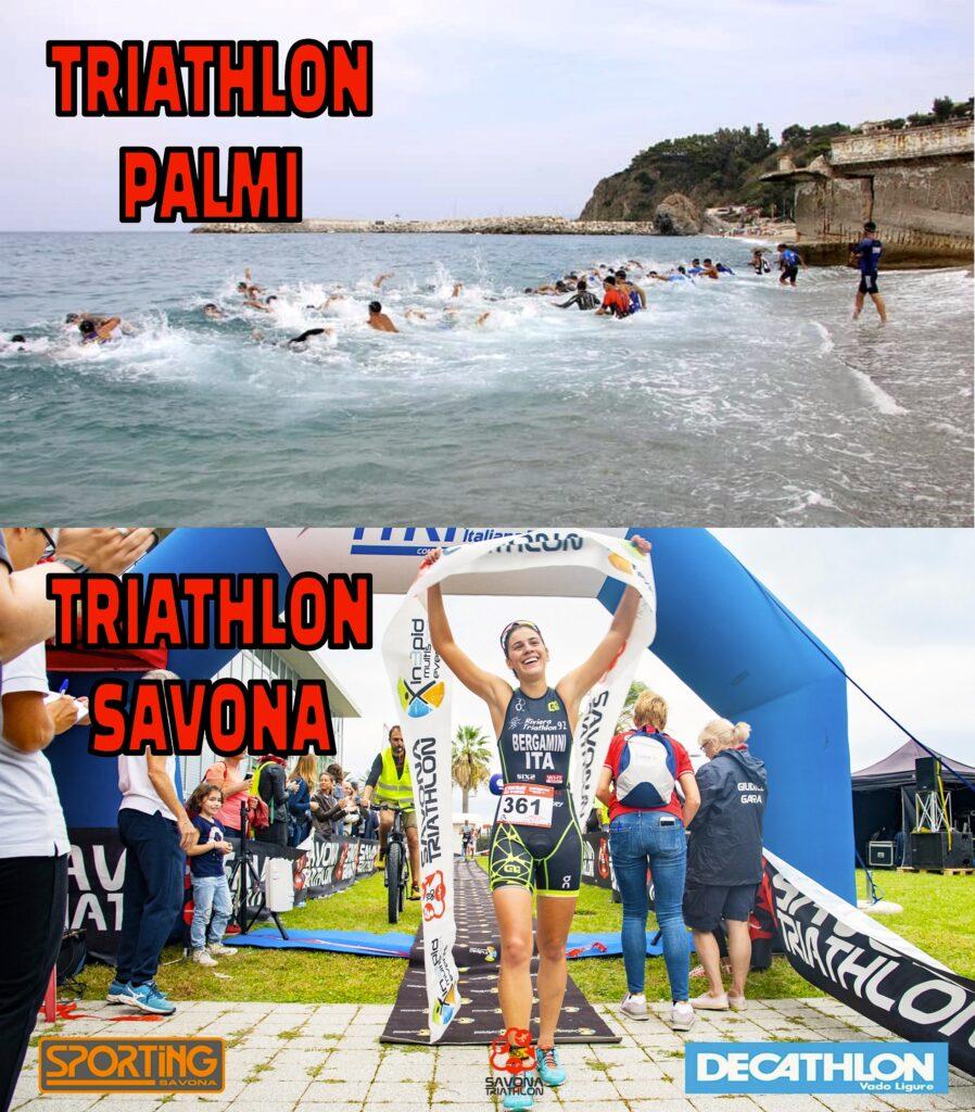 I Triathlon Città di Palmi e Città di Savona rinviati al 2021