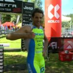 Filippo Rinaldi termina al 7° posto l'XTERRA Czech Short Track 2020