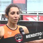Marta Menditto intervistata al termine dell'XTERRA Czech Short Track 2020 terminato in 3^ posizione