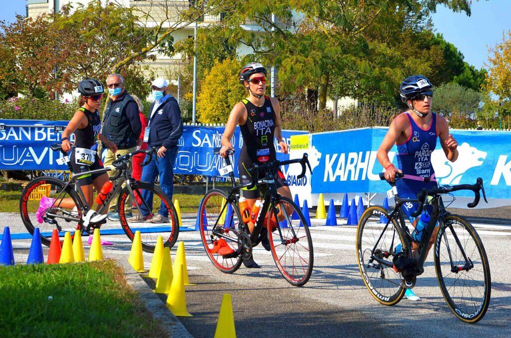 Campionati Italiani Duathlon Caorle 2020, frazione bike