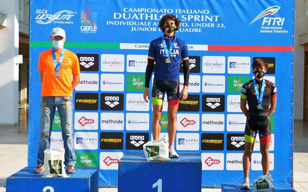 Campionati Italiani Duathlon Sprint Caorle: vincono Zane e Strada, l'elenco di tutti i campioni