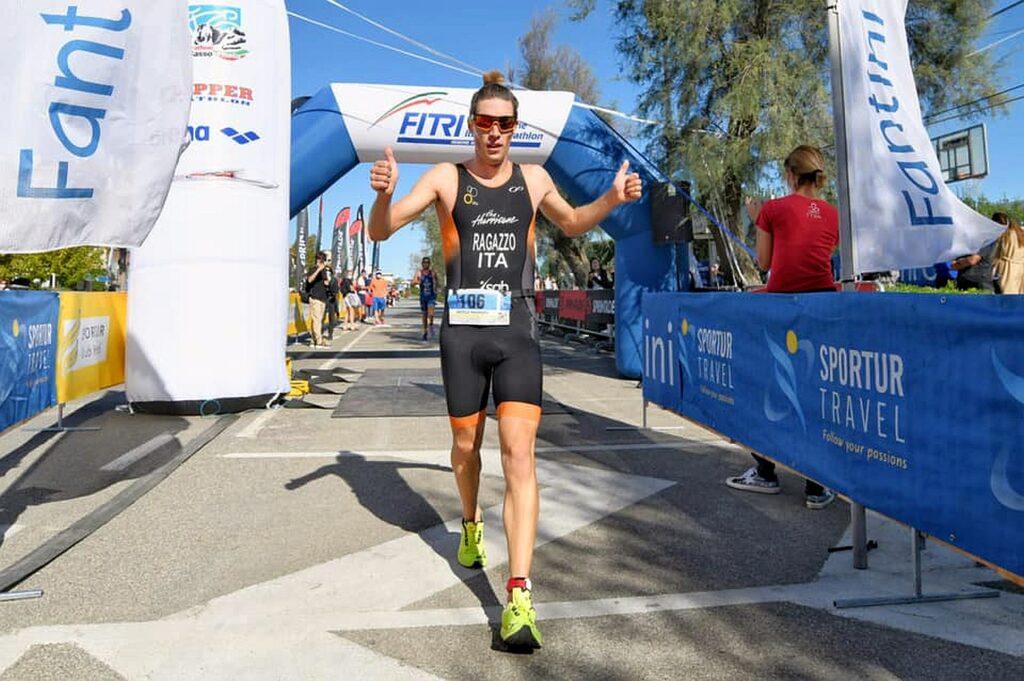 Nicolò Ragazzo (The Hurricane) vince il V Triathlon Sprint Città di Cervia Fantini Club (Foto: Roberto Del Bianco)