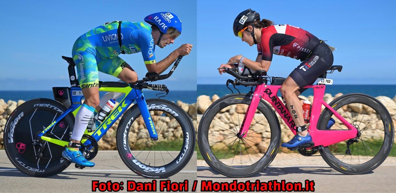 Tutti i Campioni Italiani di Triathlon Medio 2020 del Borgo Egnazia Tri