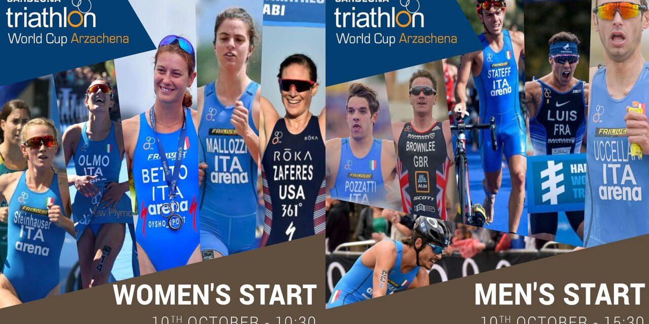 Ad Arzachena una Coppa del Mondo triathlon eccezionale!