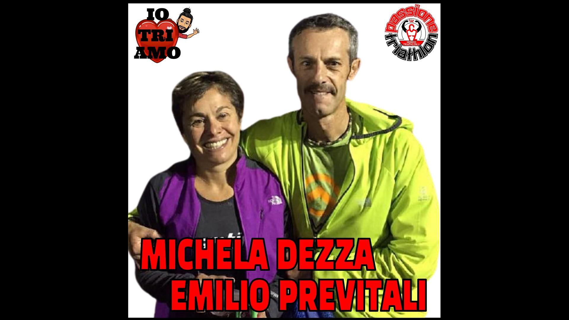 Michela Dezza ed Emilio Previtali Passione Triathlon n° 88