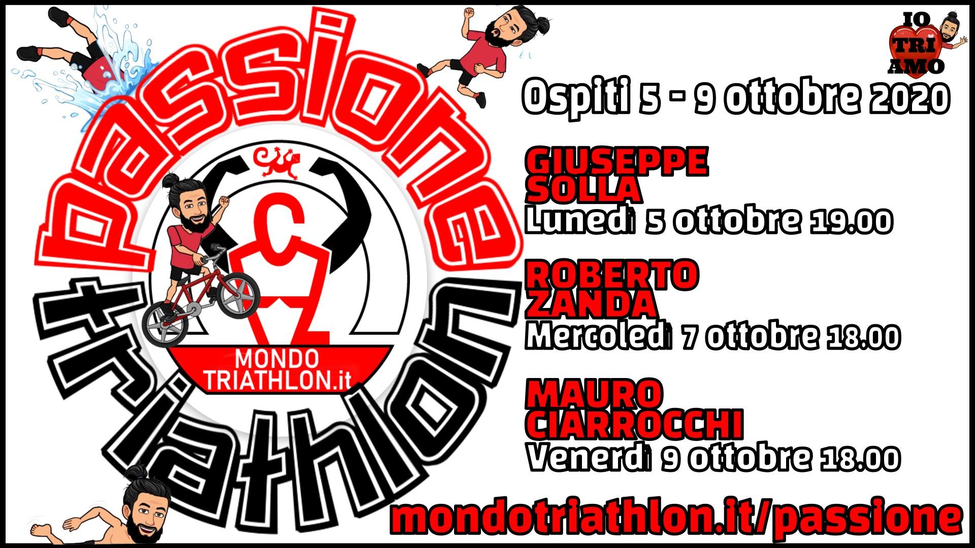 Programma Passione Triathlon 5-9 ottobre 2020