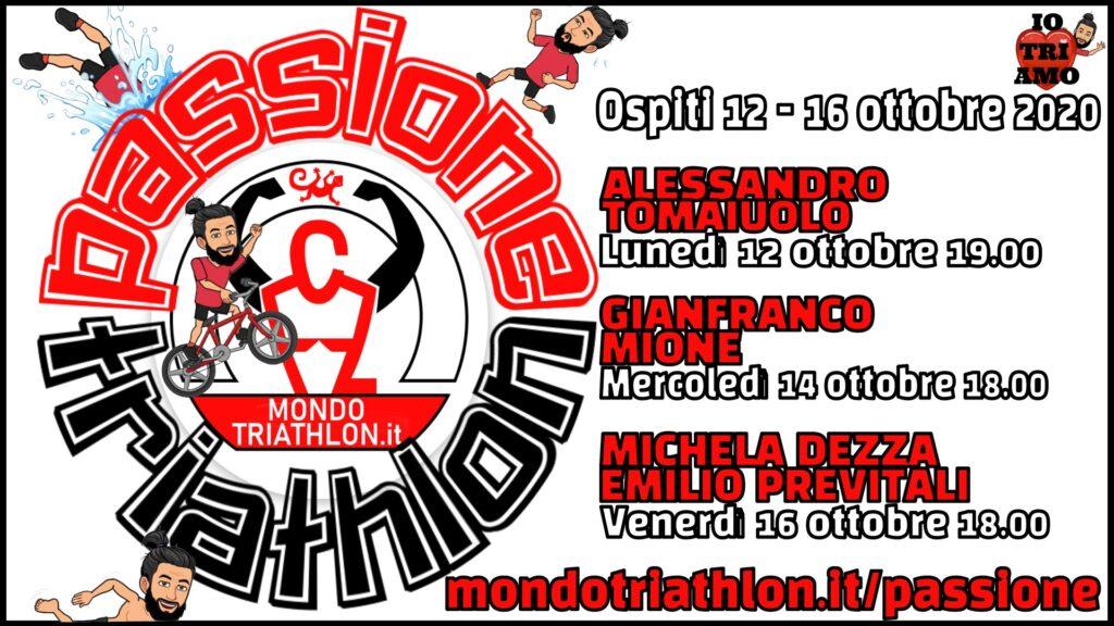 Programma Passione Triathlon 12-16 ottobre 2020