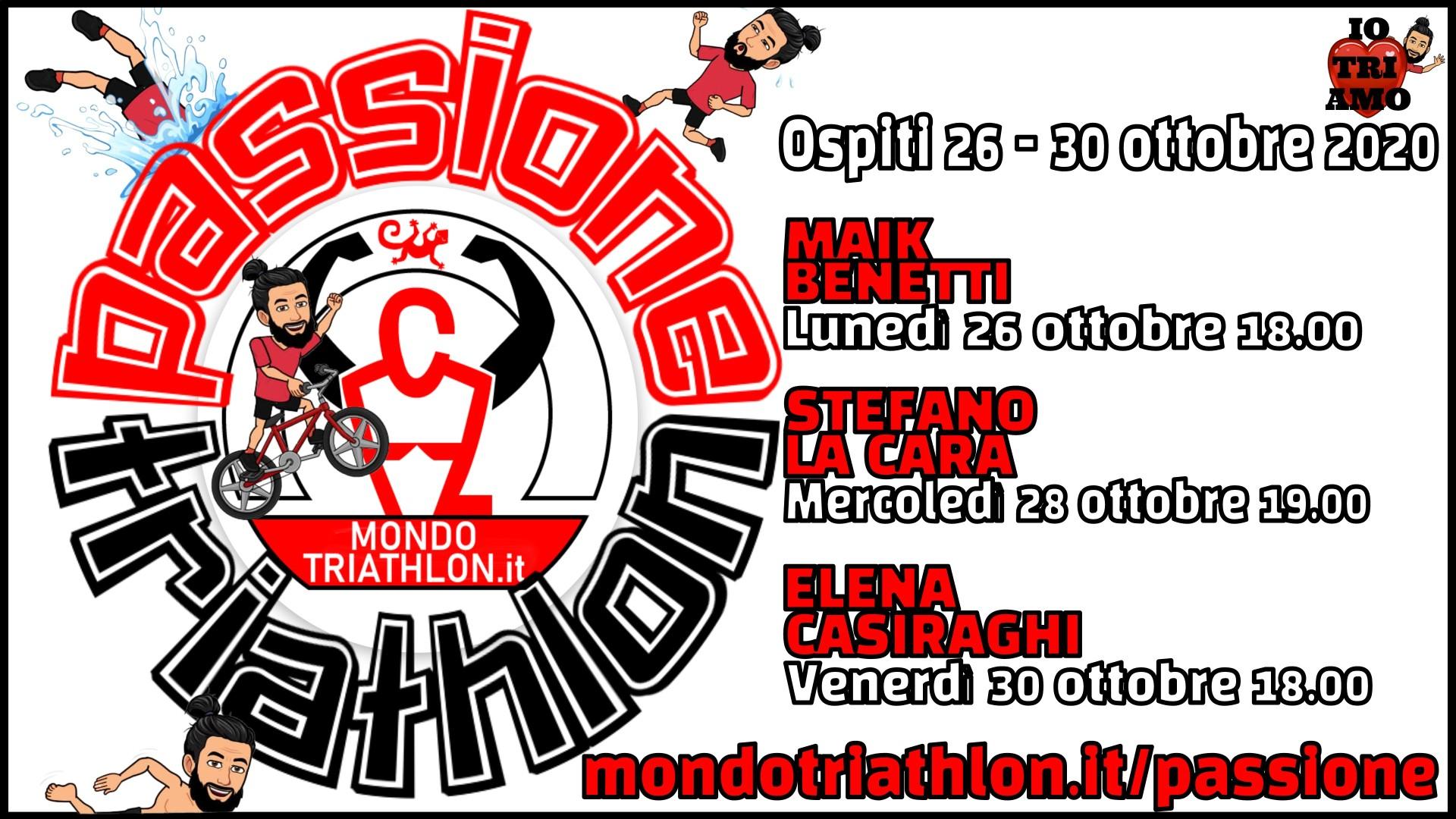 Programma Passione Triathlon 26-30 ottobre 2020