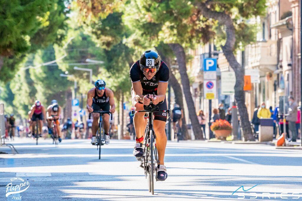 Frazione bike del 4° Triathlon Olimpico Città di Porto Recanati (Foto: Roberto Del Bianco)