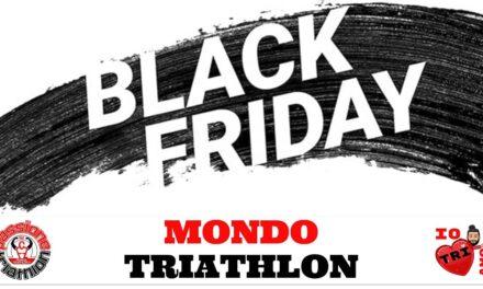Le offerte Black Friday dei negozi Mondo Triathlon