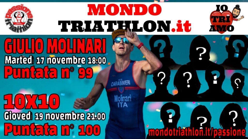 Programma Passione Triathlon n° 99 e n° 100, 17 e 19 novembre 2020