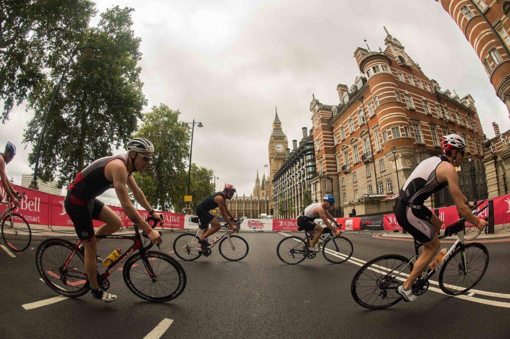 The London Triathlon bike