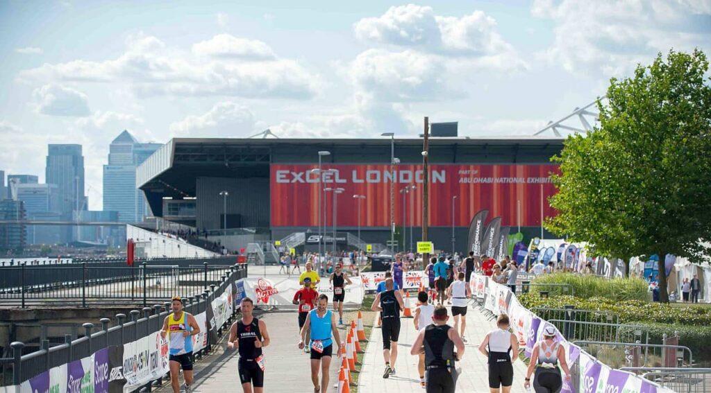 The London Triathlon run