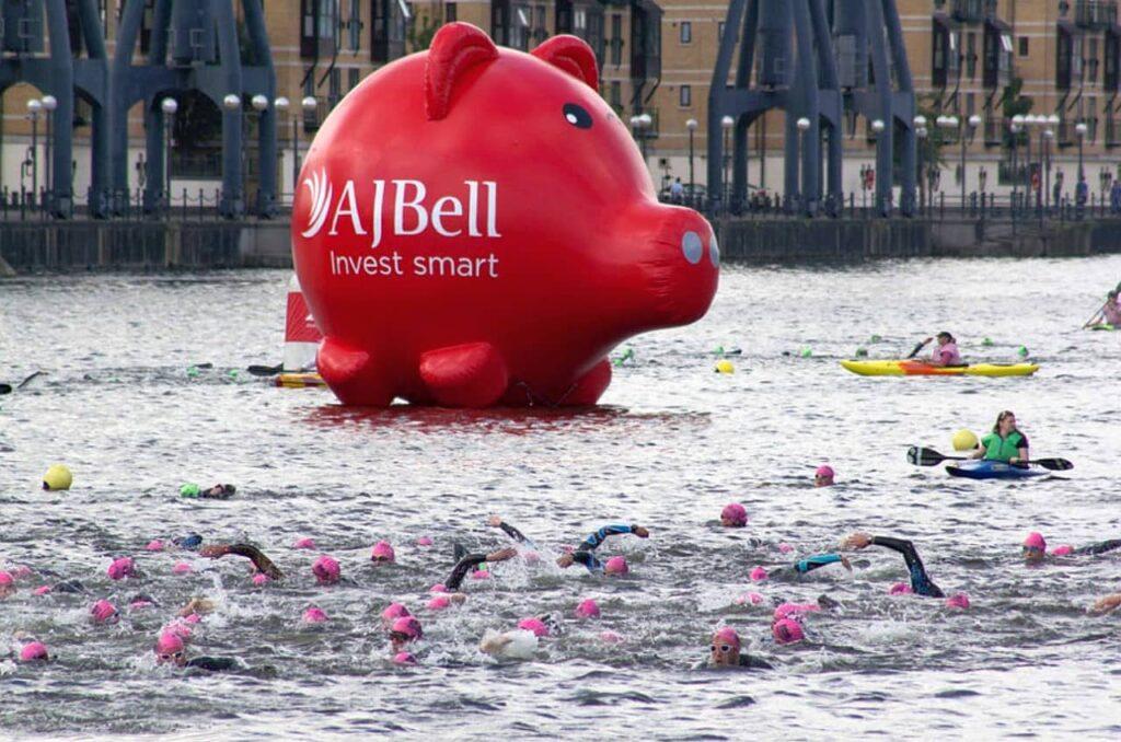 The London Triathlon swim