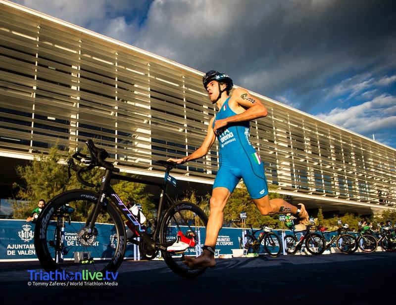 ITU World Cup Valencia 2020: ottima prova per il nostro Gianluca Pozzatti che chiude al nono posto assoluto (Foto: © World Triathlon Media / Tommy Zaferes)
